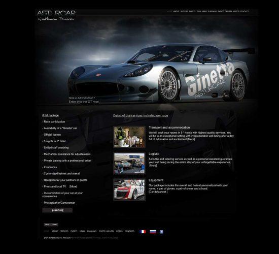 """Site """"Astur car"""""""
