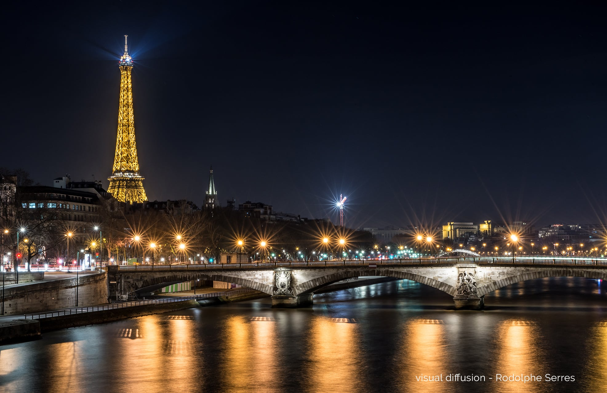 Paris by Night by Visual Diffusion