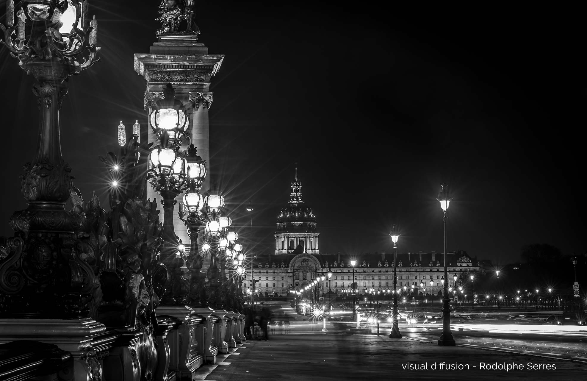 Les Invalides by Visual Diffusion