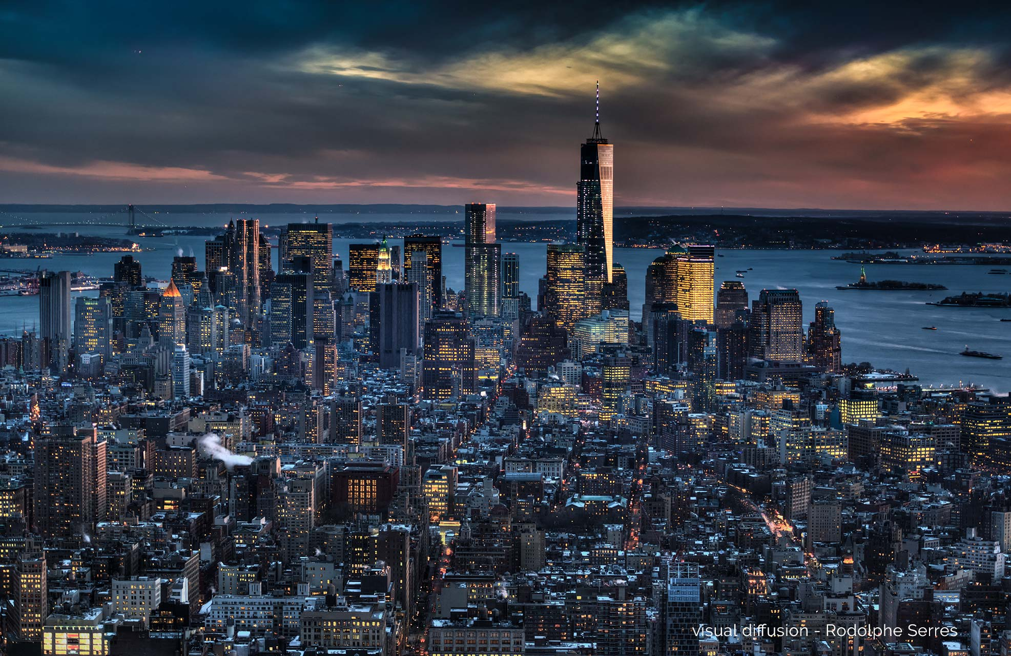 Manhattan by Visual Diffusion