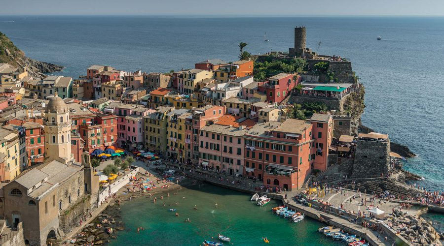 Cinque Terre by Visual Diffusion