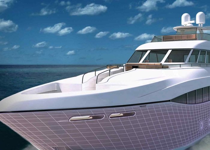 modélisation-3D d'un bateau à Mandelieu et Cannes