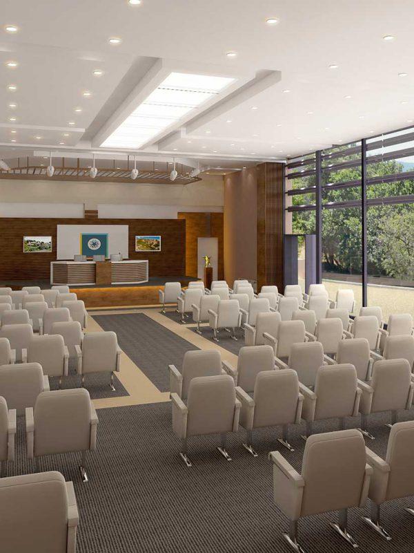 Salle de conférence dans les Alpes Maritimes