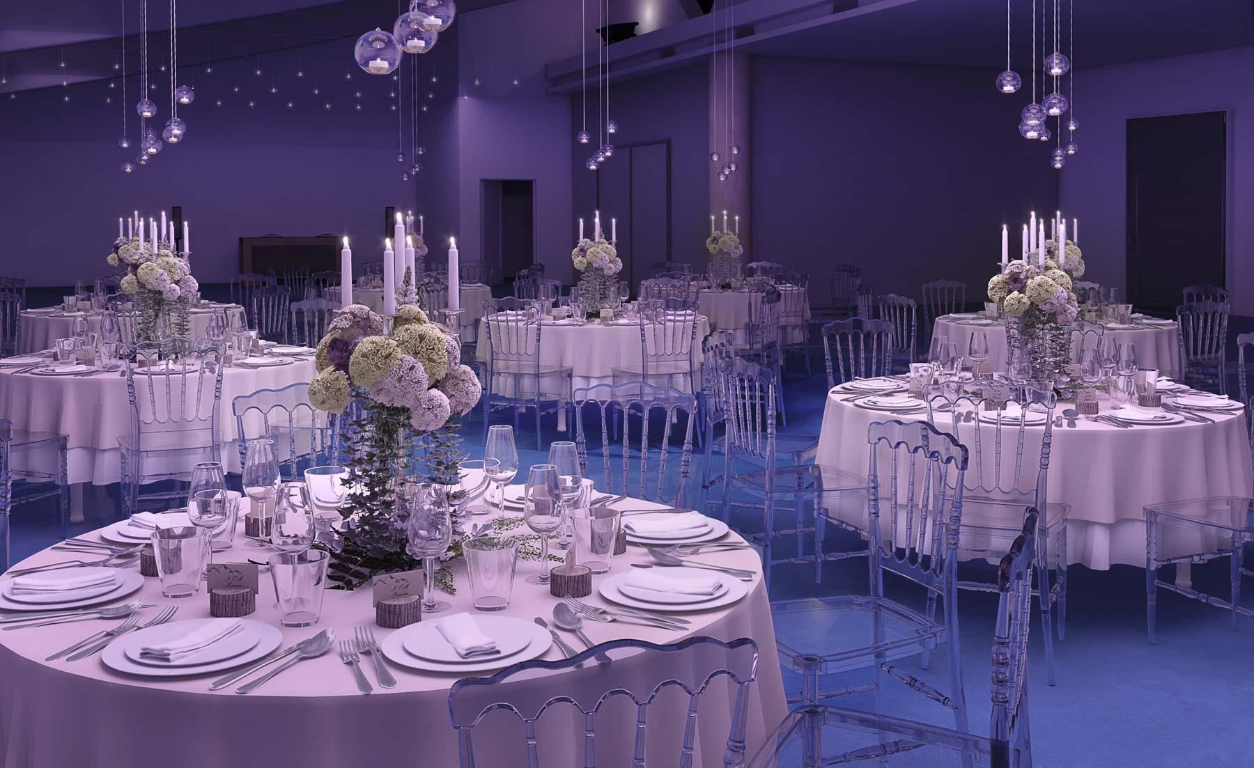 modélisation 3D Wedding planner